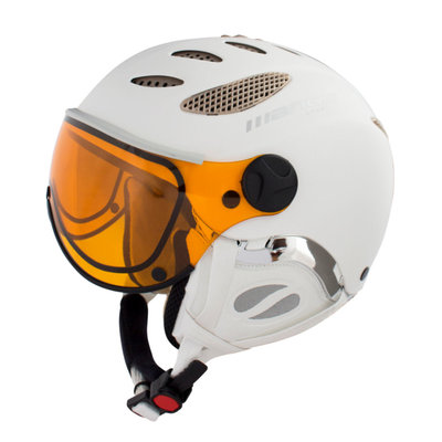 MANGO CUSNA FREE SKIHELM - PROSECCO MAT - PHOTOCHROMIC ORANGE VISIER CAT. 2-3 (☁/☀/❄)