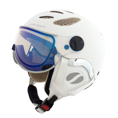 MANGO CUSNA FREE SKIHELM - PROSECCO MAT - PHOTOCHROMIC BLUE VISIER CAT. 2-3 (☁/☀/❄)