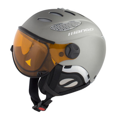 MANGO CUSNA FREE SKIHELM - TITAN MAT - PHOTOCHROMIC ORANGE VISIER CAT. 2-3 (☁/☀/❄)