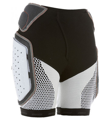 Dainese Action Protection Short Evo Heren Zwart-Wit