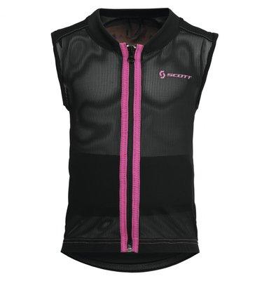 Scott Soft Actifit Jr Vest Protector S Zwart Roze