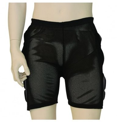 Staz Protector Padded Thermo Short Heren S-M Zwart