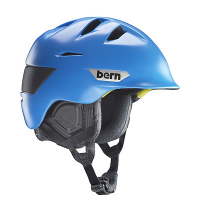 Bern Kingston Skihelm Satijn Cyaan Blauw