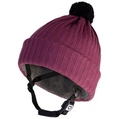 Helt-Pro Pompom Rib Purple Skihelm