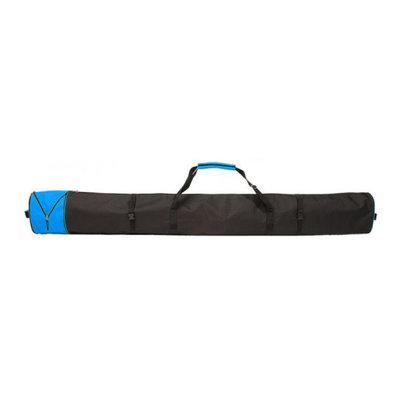 Skisack Corvara Vario - schwarz blau - für 1 Paar Ski mit Stöcken