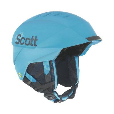Scott Symbol Skihelm Cyaan Blauw Matt