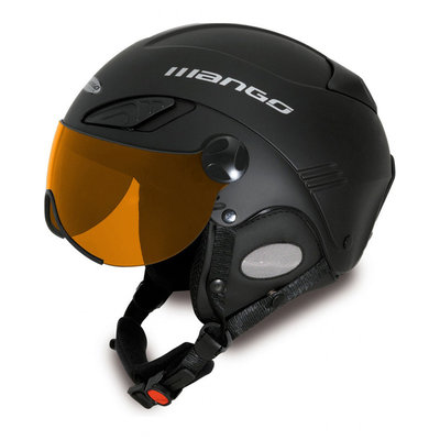 MANGO CUSNA PRO FREE XP SKIHELM - GEEL -  ORANGE MIRROR  (☁/☀/❄)