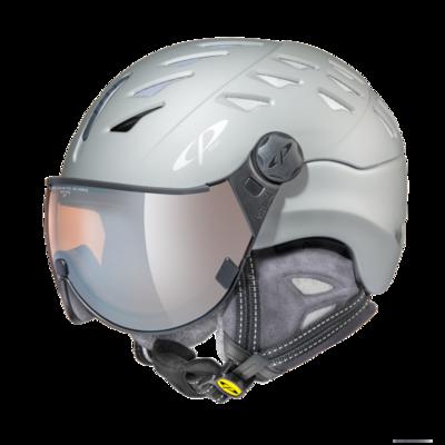 CP Helm mit Visier cuma cashmere - grijs - Photochrom/Polarisiert/Verspiegelt ❄/☁/☀