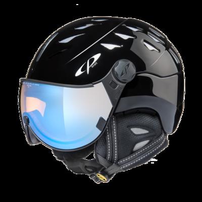 CP Helm mit Visier cuma - zwart - Photochrom/Polarisiert/Verspiegelt ☁/❄/☀