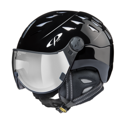 CP Helm mit Visier cuma - zwart - Photochrom/Verspiegelt ☁/❄/☀