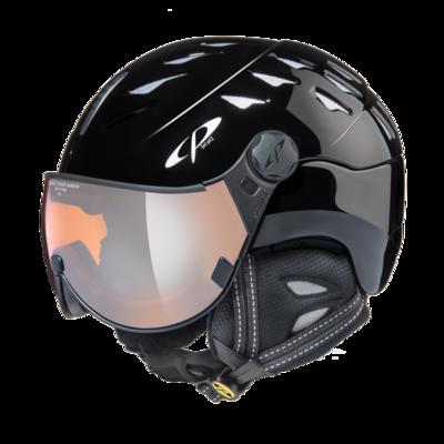 CP Helm mit Visier cuma - zwart - Verspiegelt ☁/❄/☀