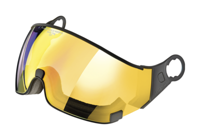 Cp 25 Visier helm Carachillo - flash gold mirror ☁/❄/☀