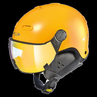 CP Helme mit Visier Carachillo - Gelb - Verspiegelt ❄/☁/☀