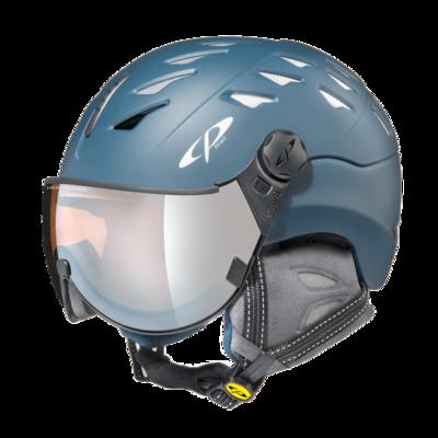 CP Helm mit Visier cuma cashmere - blau - Photochrom/Verspiegelt/Polarisiert  ☀