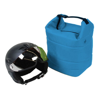 ski helm tasche blau - skihelmtasche auch für die skibrille