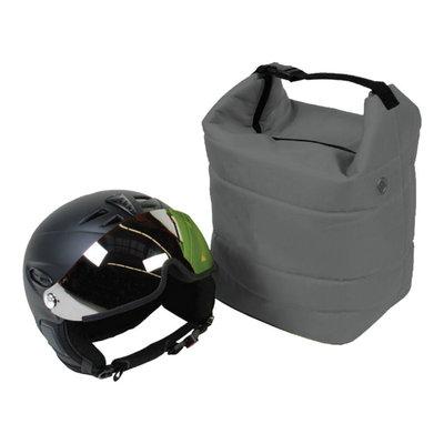 ski helm tasche grau - skihelmtasche auch für die skibrille