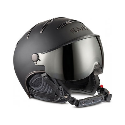 Skihelm Kask chrome - Black - Smoke Pink Meekleurend ☀/☁