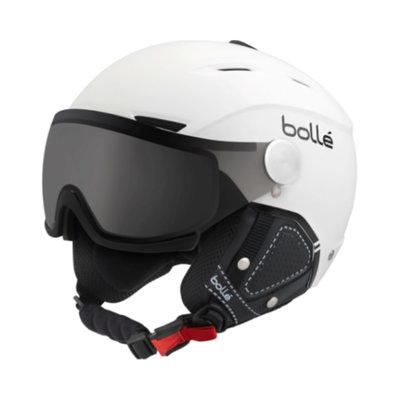 bolle Helm mit Visier Backline Premium - weiss schwarz -  ☁/❄/☀