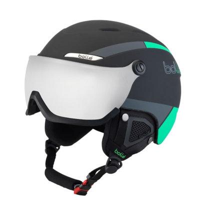 Bollé Helm mit Visier Bollé B-YOND  Black & Green  - ☁/❄/☀
