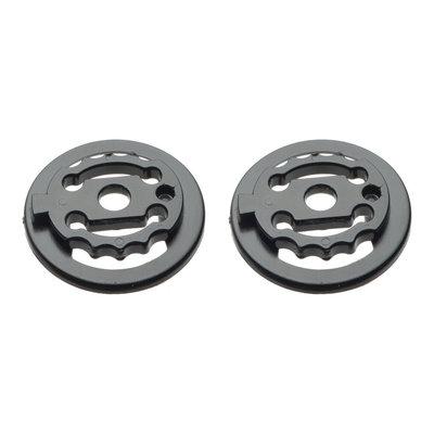 CP Skihelm Schrauben-Set support ring schwarz - passend für CP Skihelm mit Visier