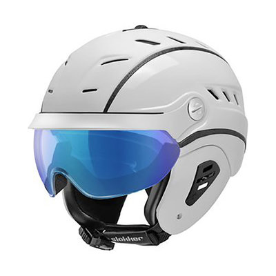 Skihelm Slokker Bakka Multi Layer - weiss - photochrom Visier  (☁/☀/❄)