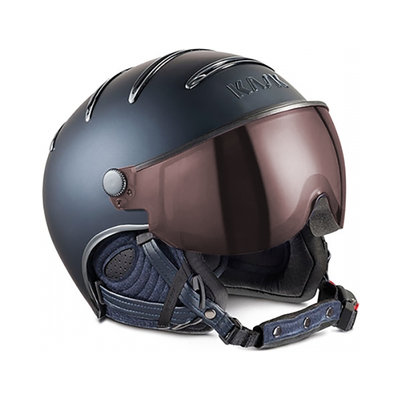 KASK CHROME SKIHELME -  BLAU - PHOTOCROM ☀/☁