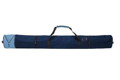 Skisack Corvara Vario - blau - für 1 Paar Ski mit Stöcken