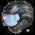 CP camurai  - zwart - dl vario lens br pol ice mirror Vizier