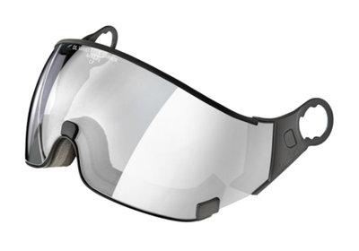 CP 23 skihelm vizier meekleurend vario silver visor cat 1-3-voor CP Camurai en Cuma skihelm