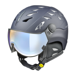 Cp Skihelm met vizier Cuma evening blue s.t. Dl Vario Lens Brown Pol Ice Mirror
