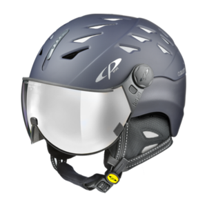 Cp Skihelm met vizier Cuma Evening Blue s.t. Clear Silver Mirror