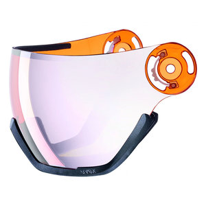 UA5682160205 Uvex vizier laser-gold-lightsilver - hlmt 400 ersatz visier visor exchange - 4043197290775