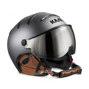 Skihelm Kask Class Matt - Antracite-Brown