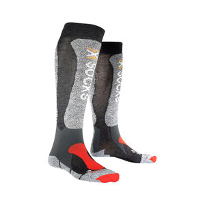 X-Socks Skiing Light Skisokken Unisex Antraciet