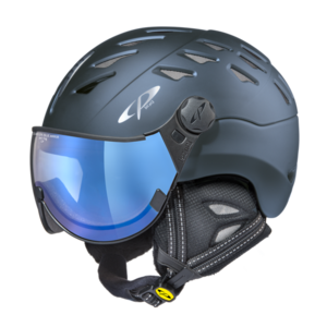 Helm Cuma Midnight Blue s.t. blue Mirror