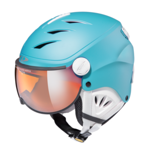 Helm Camulino river blue s.t. orange silver mirror