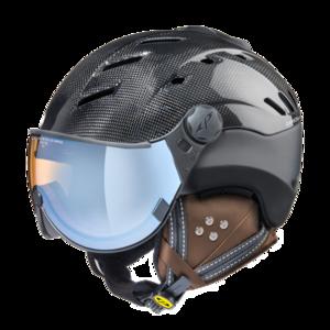 CP camurai  - dark carbon shiny black s.t. - dl vario lens br pol ice mirror Vizier